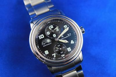 Blancpain Leman Dual Time Zone Automatic Men's Watch 2160-1130M-71