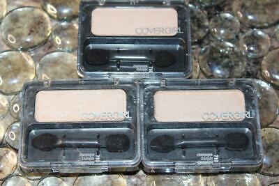 Lot Of 3 Covergirl Eyeshadow 710 CHAMPAGNE Eye Enhancers Sha