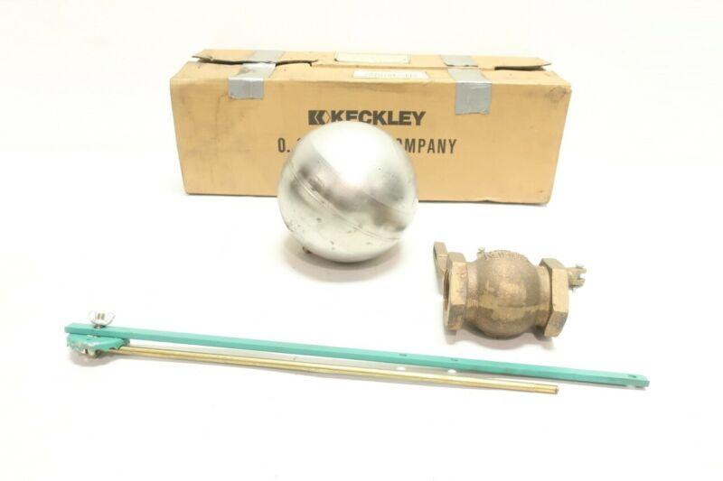 Keckley TYPE 62 Globe Float Valve 1-1/2in Npt