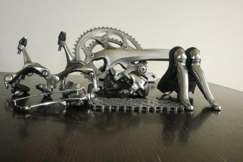 LOVELY SHIMANO 105 10 SPEED GROUPSET IN VERY GOOD CONDITION, WORKS PERFECTLY
