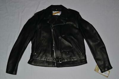 SCHOTT NYC 118 Classic Perfecto Leather Motorcycle Jacket BLACK ALL SIZES NEW