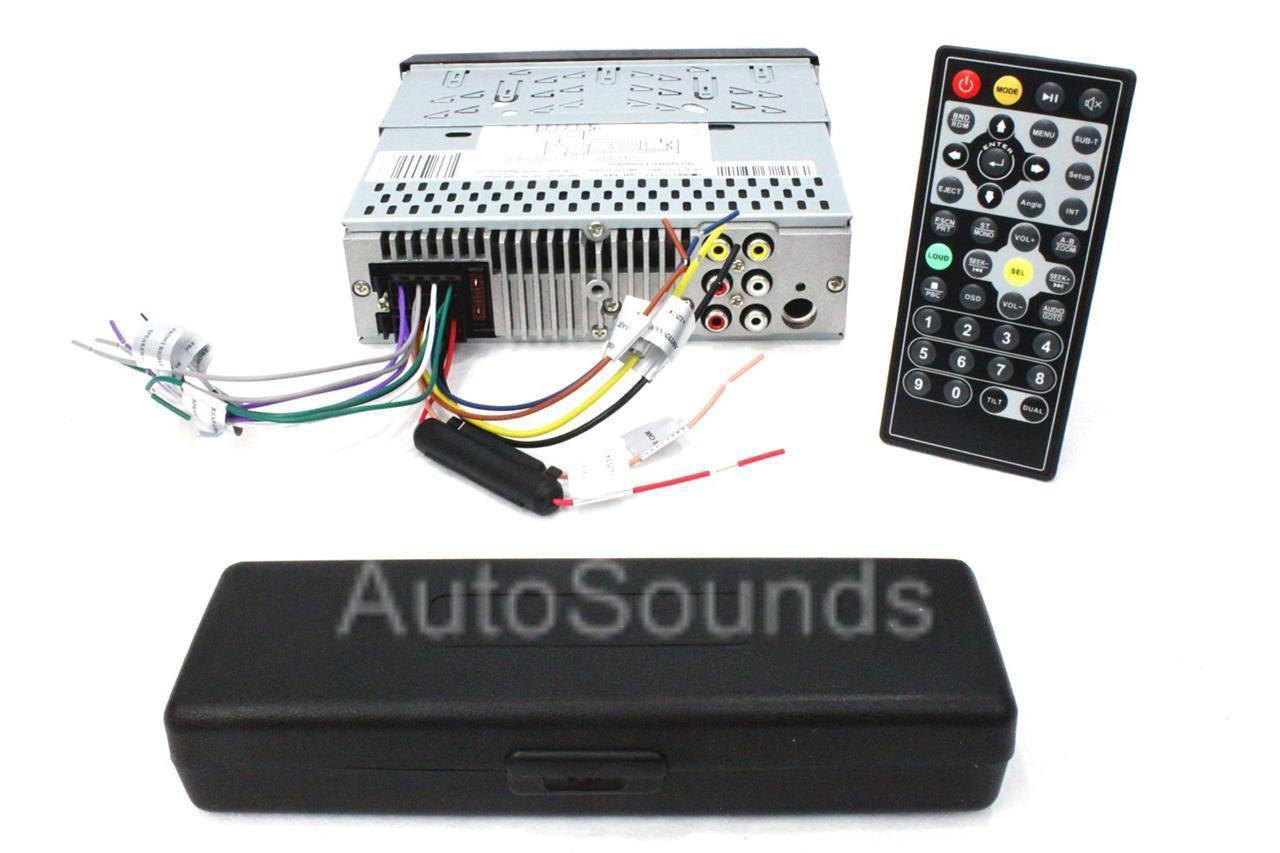 Soundstream VR-345B DVD/CD/MP3 Player 3.4