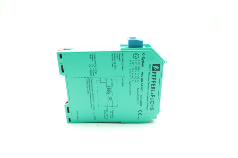 Pepperl Fuchs KFD0-SD2-EX1.1065 Solenoid Driver 1 Channel Isolated Barrier