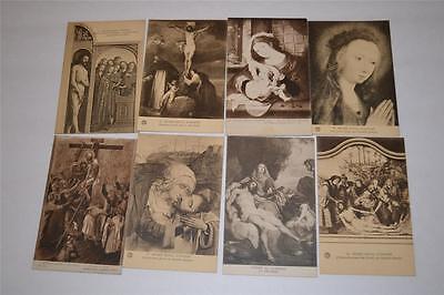 Lot 8 Vintage Old  Postcard Antwerp Early Century 1900s  Musee Royal d-Anvers