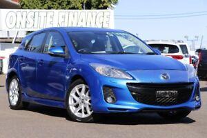 2012 Mazda 3 BL10L2 SP25 Blue 6 Speed Manual Hatchback