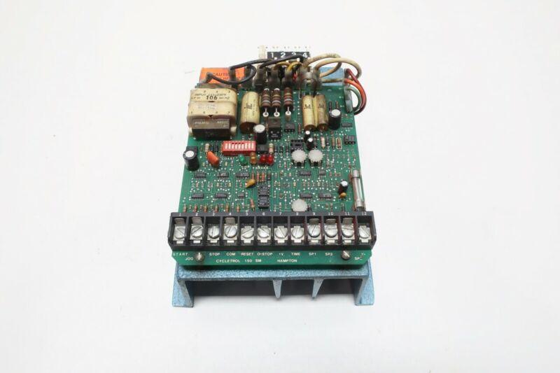 Danfoss 150316 Cycletrol Dc Drive 150 240v-ac 0-180v-dc 1/8-3hp