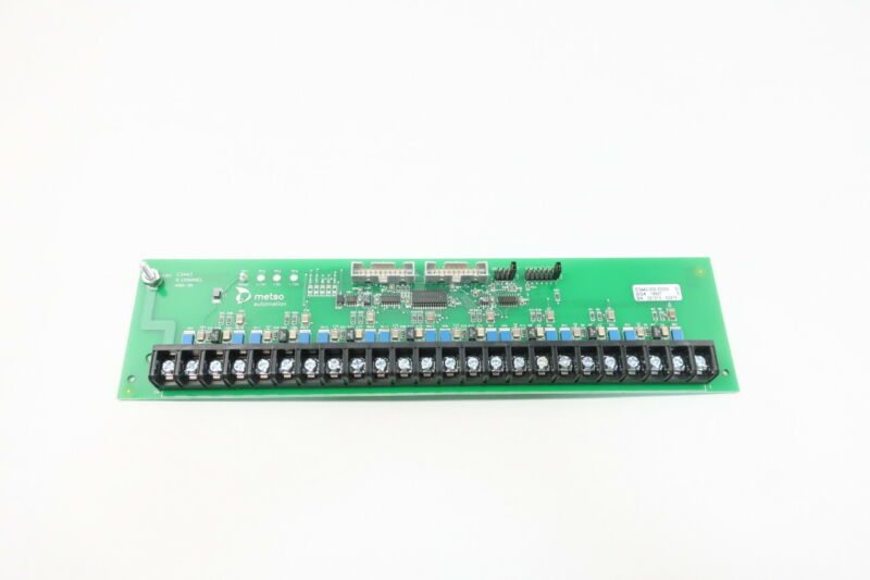 Metso C3443-000-00005 8-channel Analog Input Module