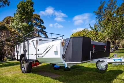 Ezytrail Lincoln LX K-Series Camper Trailer Hard Floor Off Road