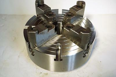 New Bison 10 Steel 4-jaw Independent Lathe Chuck D1-5 Direct Mount 1740
