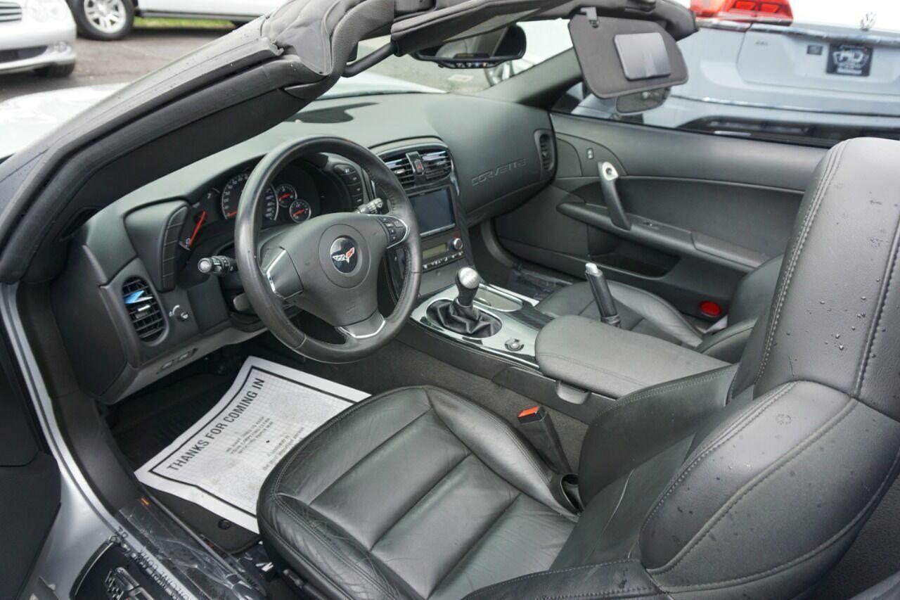 2013 Silver Chevrolet Corvette Coupe 1LT | C6 Corvette Photo 5