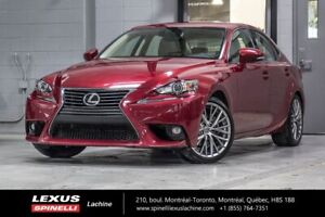 2015 Lexus IS 250 LUXE AWD; CUIR TOIT GPS ANGLES MORTS GPS - BLI