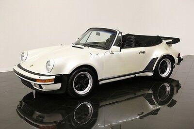 1984 Porsche 911 Carrera Turbo-Look Cabriolet *$627 PER MONTH!*