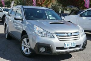 2013 Subaru Outback B5A MY13 2.0D Lineartronic AWD Silver 7 Speed Constant Variable Wagon