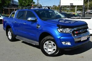2017 Ford Ranger PX MkII MY17 XLT 3.2 (4x4) Blue 6 Speed Automatic Double Cab Pick Up Underwood Logan Area Preview
