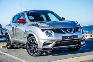 2018 Nissan Juke F15 MY18 NISMO X-tronic AWD RS Silver 8 Speed Constant Variable Hatchback