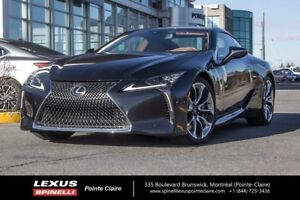 2018 Lexus LC 500 V8, GR PERFORMANCE SPECIAL DEMO REBATE $18188