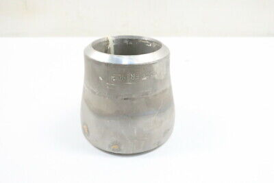 Stainless Pipe Reducer Coupling Sch80s Wps304l 970239 Butt Weld 4in X 3in