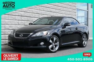 2010 Lexus IS 250C *CONVERTIBLE*AUTOM*NOIR*NAVIGATION*