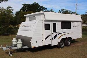 AllStar Caravan Hire - Jayco Starcraft PopTop van for hire only. Rochedale Brisbane South East Preview