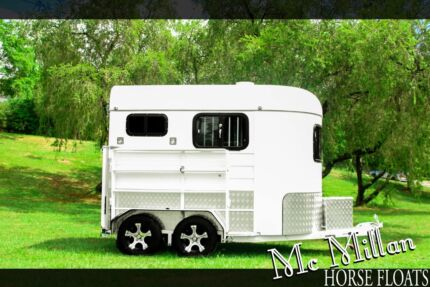 McMillan 2 Horse Angled Float - Full Spec Mansfield Brisbane South East Preview