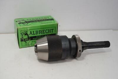 New Albrecht Keyless Drill Chuck 18-58 Cap. 3c Shank For South Bend Lathe