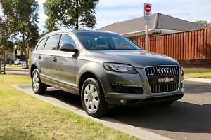 Audi Q7 MY14 As New -Low Km 7-seat All Wheel Drive - Includes GST Barden Ridge Sutherland Area Preview