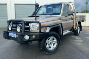 2009 Toyota Landcruiser VDJ79R GXL Gold 5 Speed Manual Cab Chassis
