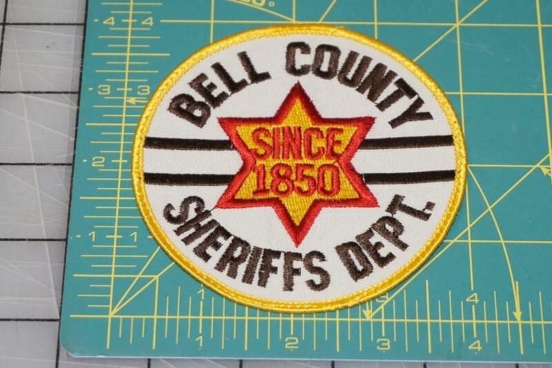 Bell County Sheriffs Department Since 1850 Patch (10025)