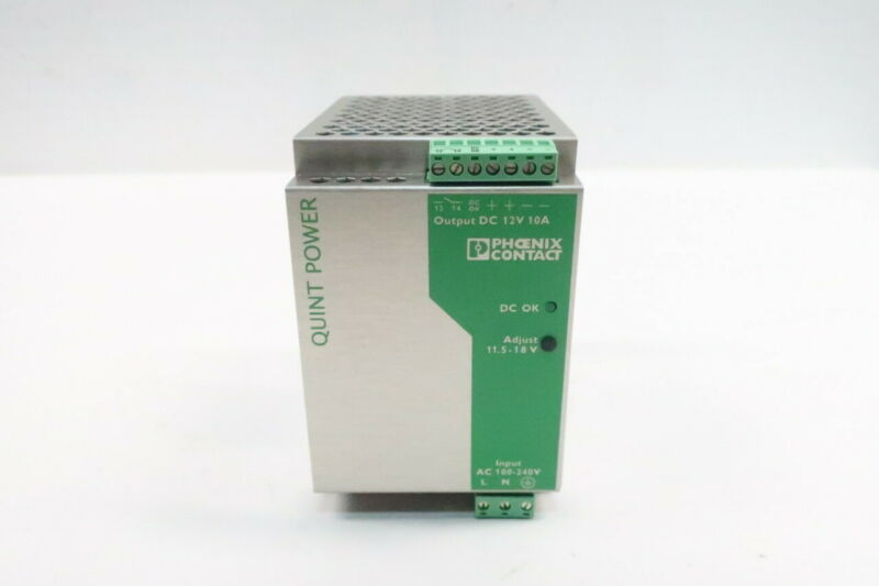 Phoenix Contact QUINT-PS-100-240AC/12DC/10 Power Supply 100-240v-ac 10a 12v-dc