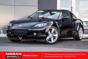 2007 Mazda RX-8 GT SUNROOF, LEATHER, VERY LOW MILEAGE