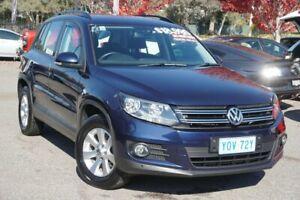 2013 Volkswagen Tiguan 5N MY13.5 132TSI DSG 4MOTION Pacific Blue 7 Speed