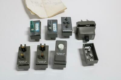 Lot Of 8 Tektronix Inc Curve Tracer Test Adapters