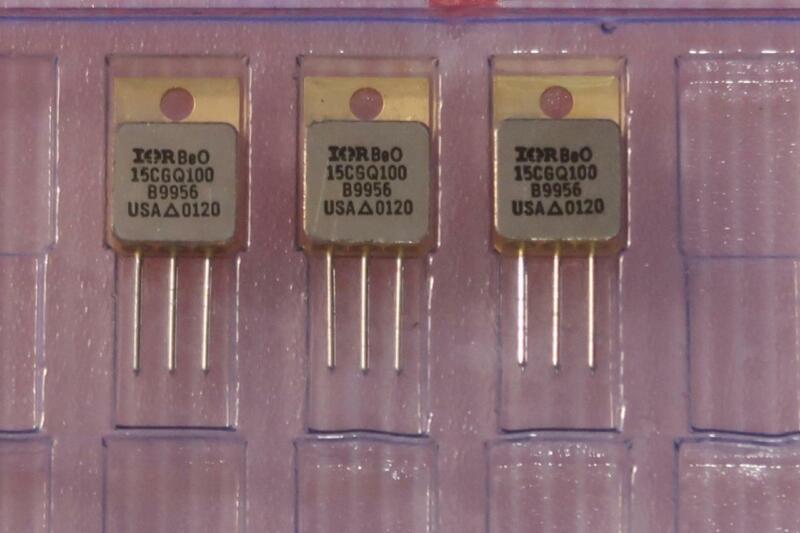 International Rectifier 15CGQ100 35A 100V Hi-Rel Schottky Common Cathode Diode