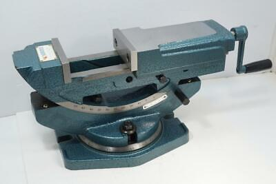 New Vertex 4 Hydraulic Tilting Swivel Milling And Drill Press Vice Vise. Vh-4t