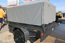 7X4 Heavy Duty Trailer 600mm cage & Canopy Cover - Package Price! Fyshwick South Canberra Preview