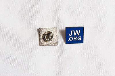 JW.org Metal Square Badge