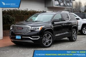 2019 GMC Acadia Denali Leather, Sunroof, Backup Camera