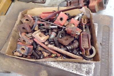 42 Original Farmall M-sm Tractor Bolts Nuts Smaller Parts Ihc Sm-m
