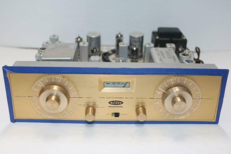 HH SCOTT TYPE 330-C STEREOMASTER AM/FM