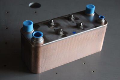 Evaporator 17.5kw 5 Rt Condenser 27.5kw 7.8 Rt Brazed Plate Heat Exchanger
