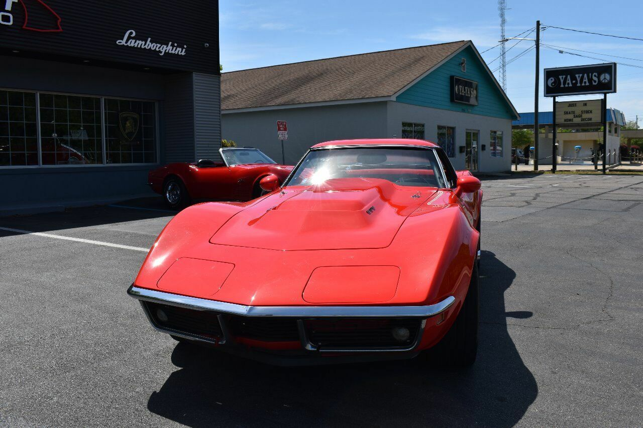 1969 Red Chevrolet Corvette   | C3 Corvette Photo 5