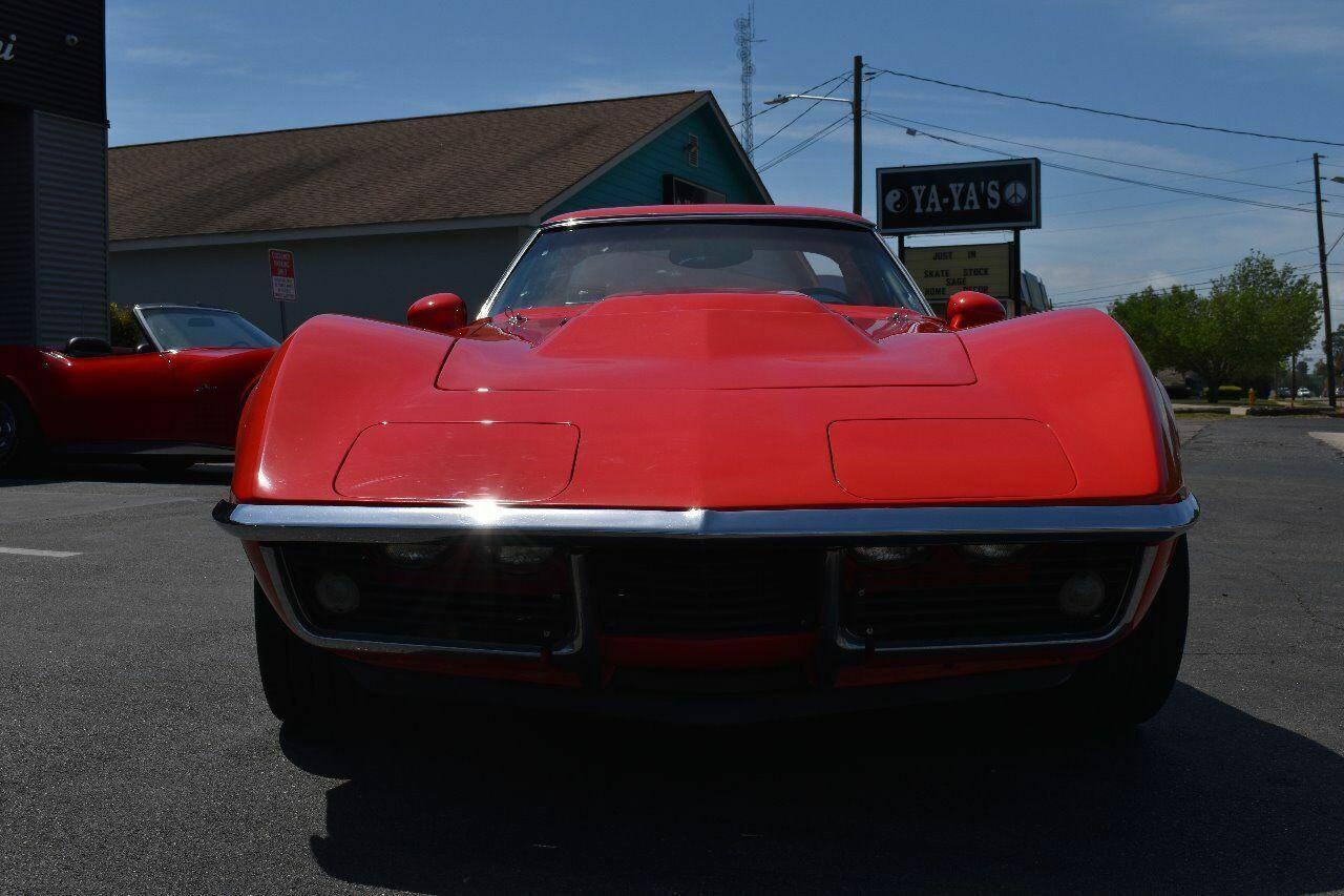 1969 Red Chevrolet Corvette   | C3 Corvette Photo 8