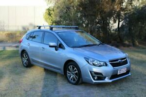 2015 Subaru Impreza G4 MY15 2.0i Lineartronic AWD Premium Silver 6 Speed Constant Variable Hatchback Ormeau Gold Coast North Preview