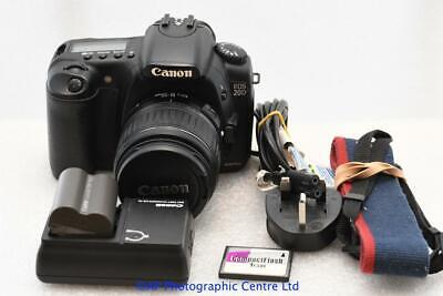 Canon EOS 20D DSLR Camera c/w 18-55mm MK II Lens GOOD CONDITION