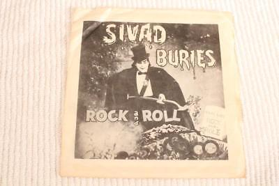 MEMPHIS HORROR SIVAD BURIES ROCK & ROLL TOM TOM includes RARE PS! CLEAN!