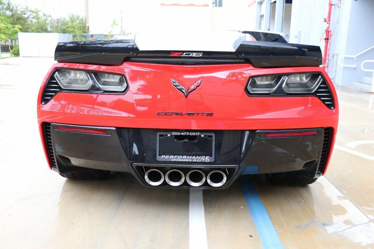 2016 Red Chevrolet Corvette Z06 3LZ | C7 Corvette Photo 7