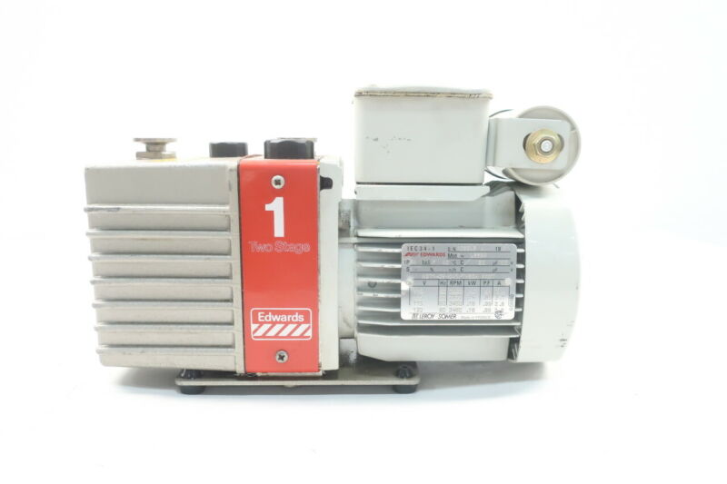 Edwards E2M-1 Two-stage Vacuum Pump .16kw 120v-ac