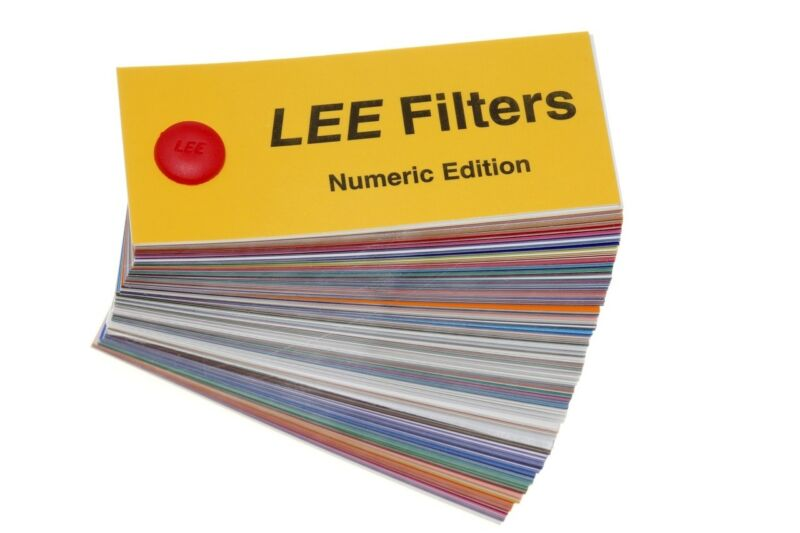 Lee Filters Swatch Book Numeric Edition