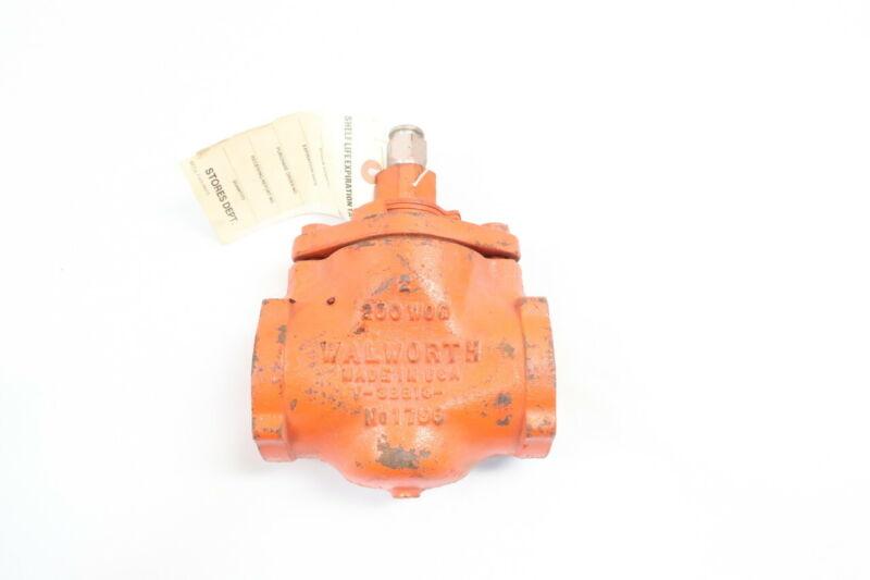 Walworth 1796 Iron Plug Valve 2in Npt