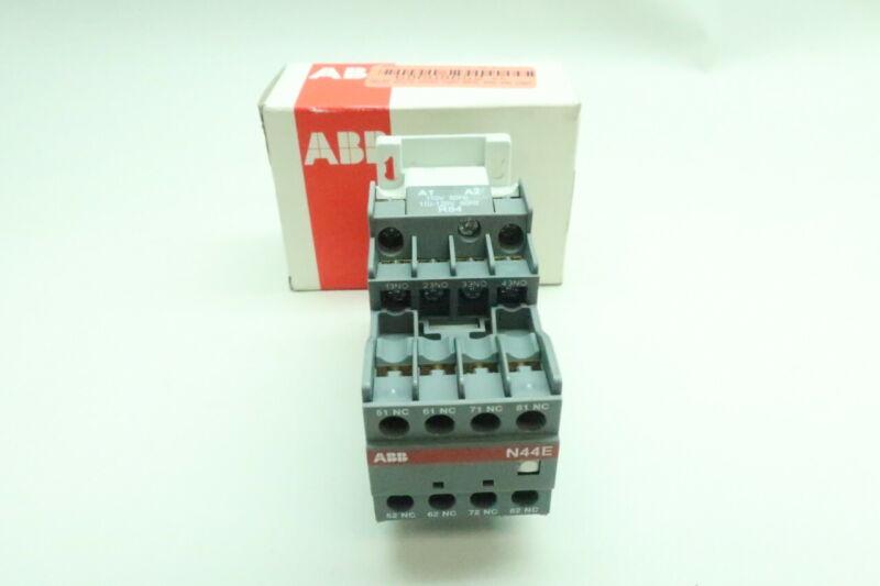Abb N44E Contactor Relay 110-120v-ac